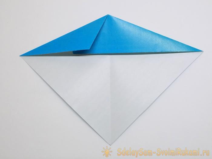 Китенок из бумаги