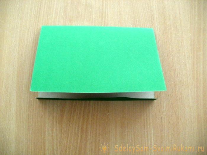 изготовление открытки для папы