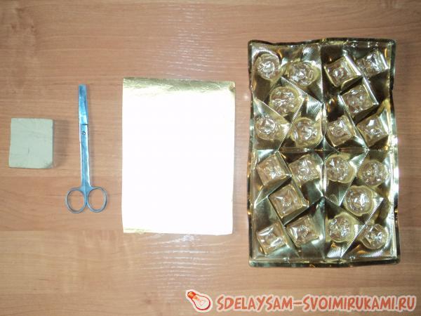 пустая коробка из под конфет