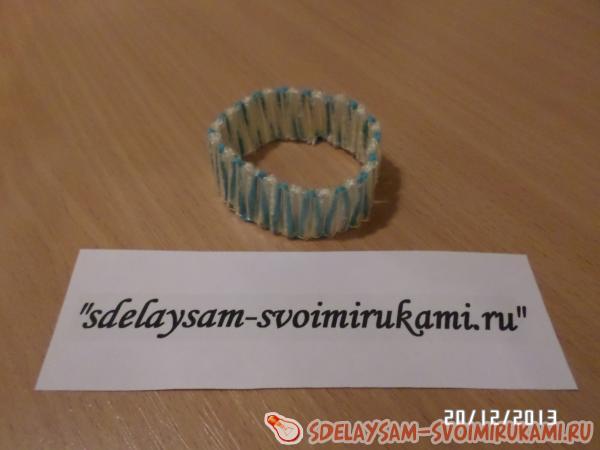 Bracelet from tubes