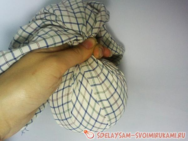 wrapped clew