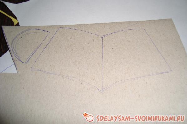 Как сделать ведро из картона своими руками