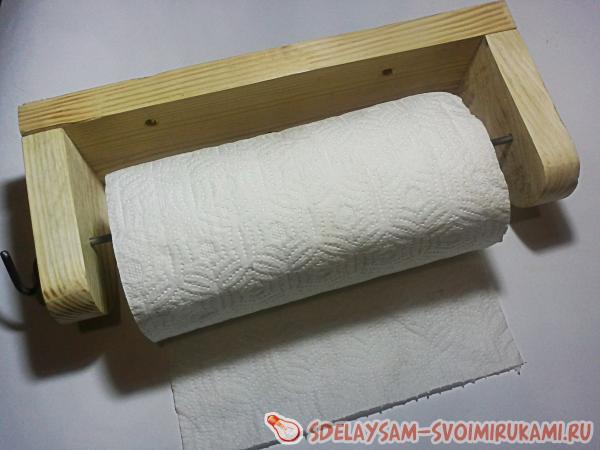Как сделать держатель для полотенца своими руками