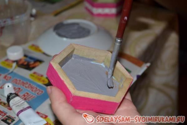we paint inside part