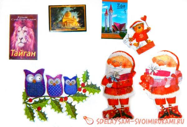 Рождественские магниты в России. Сравнить цены, купить