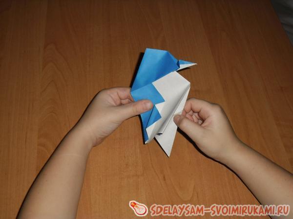 Making a small fold