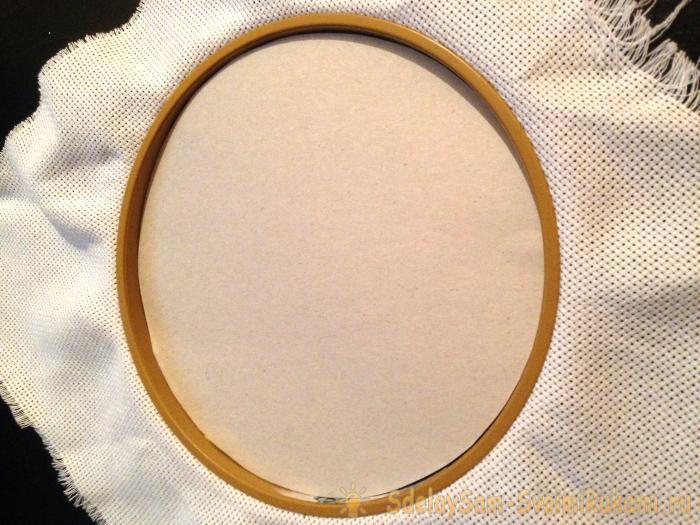 оформление вышивки крестом