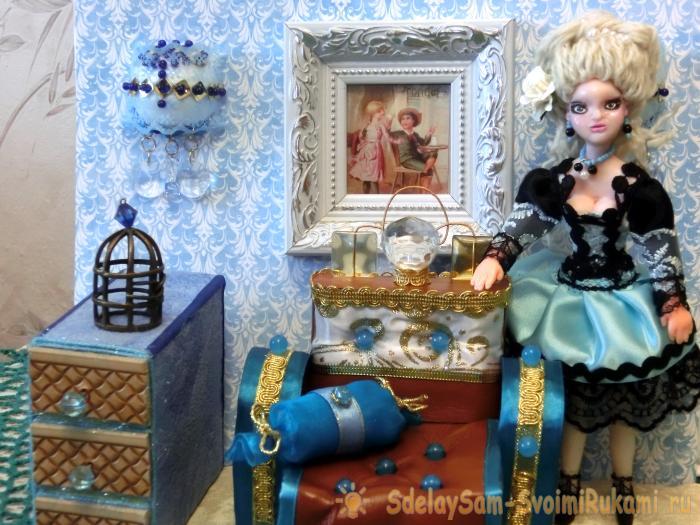 Диван для кукол своими руками. Часть 1 – Ярмарка Мастеров