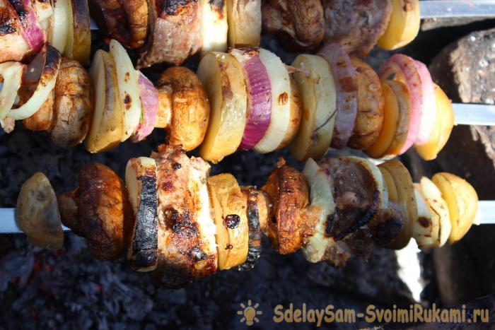 Идеальный шашлык - полноценный обед