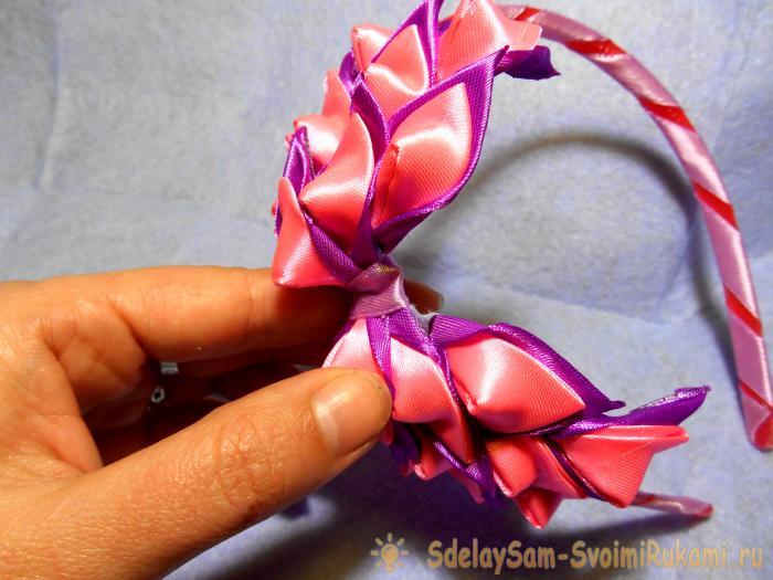 Headband Floral Bow Masterclass