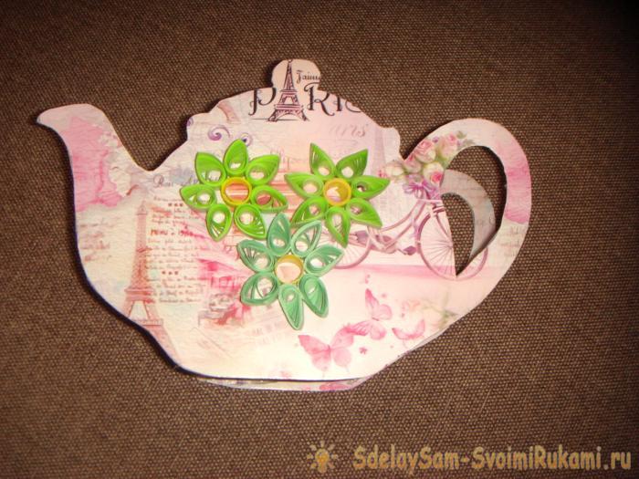 Подставка в виде чайника