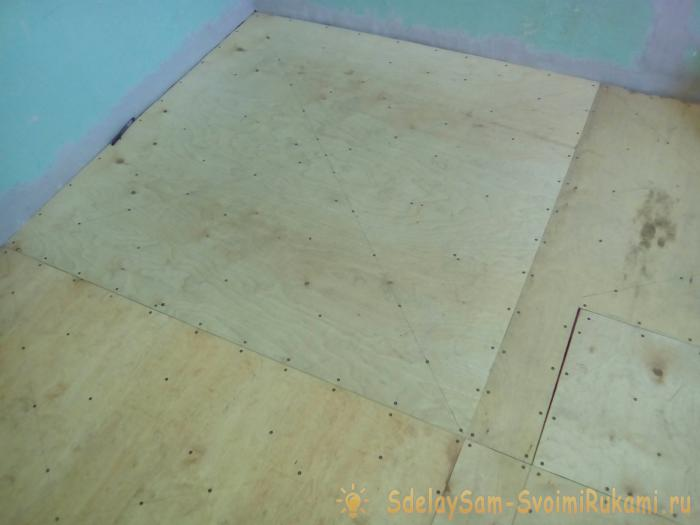 Laying linoleum do it yourself