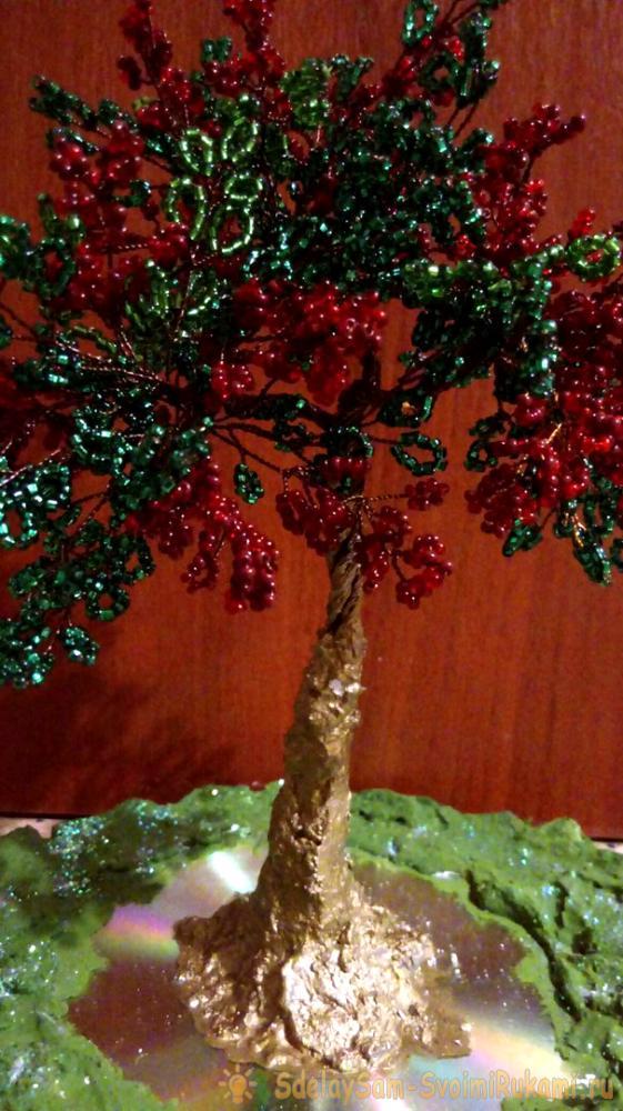 Дерево из бисера – оригинальный сувенир