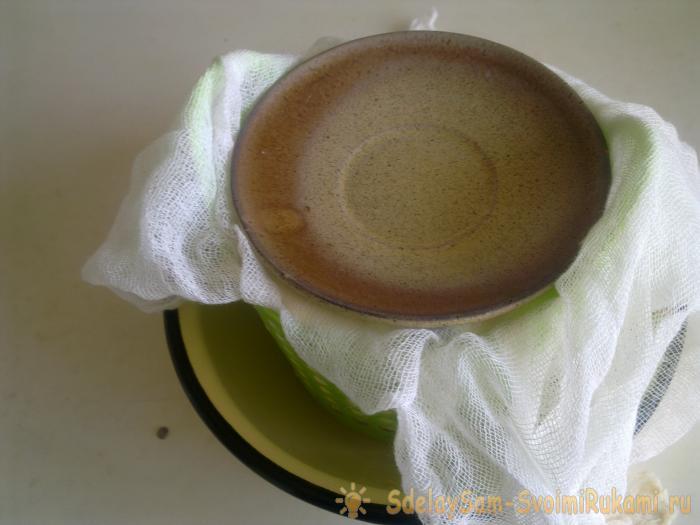 Творожная пасха с шоколадным верхом