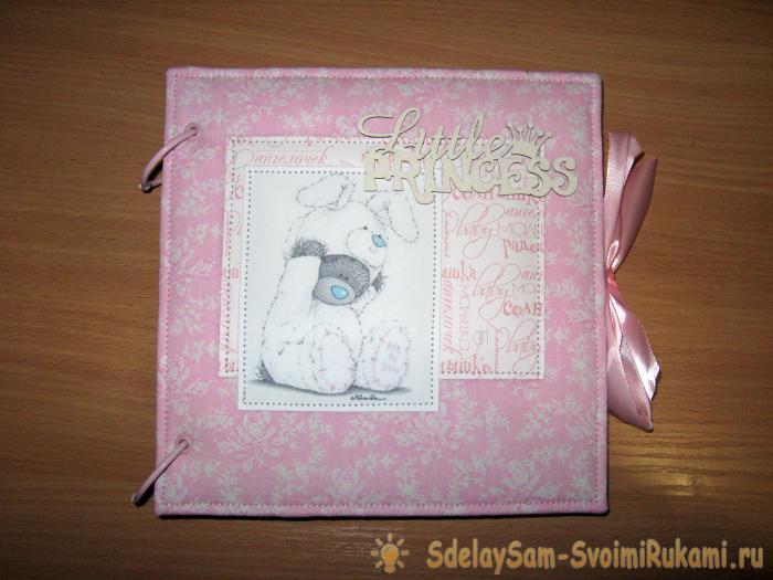 Альбом для фотографий с мишкой тедди