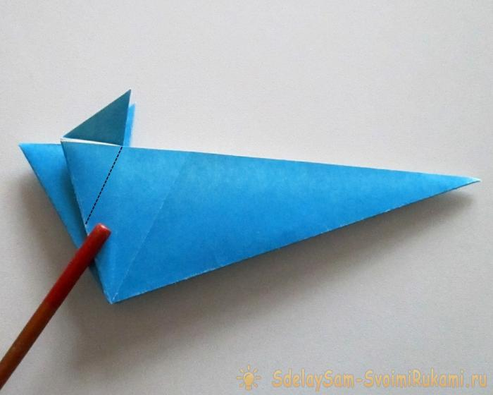 How to make a paper mouse