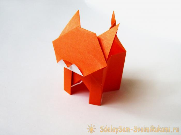 Оригами коробочки Кавайные котики Организация рабочего стола