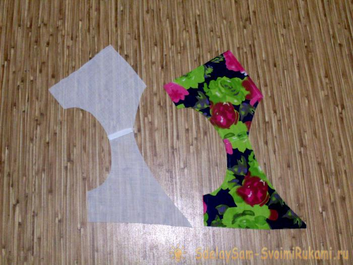 We sew the summer sarafan for girls
