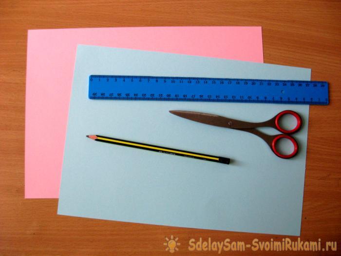 Handmade envelopes for birth