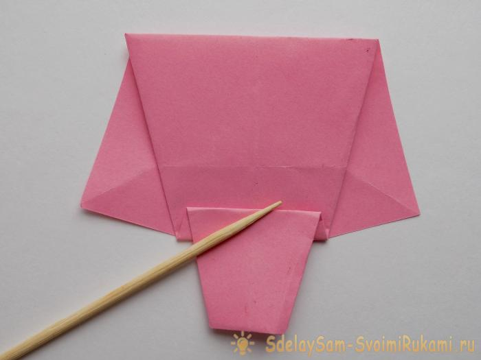 How to make an elephant using origami technique