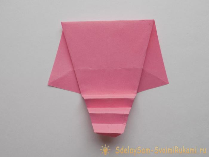 How sd Origami using an origami technique