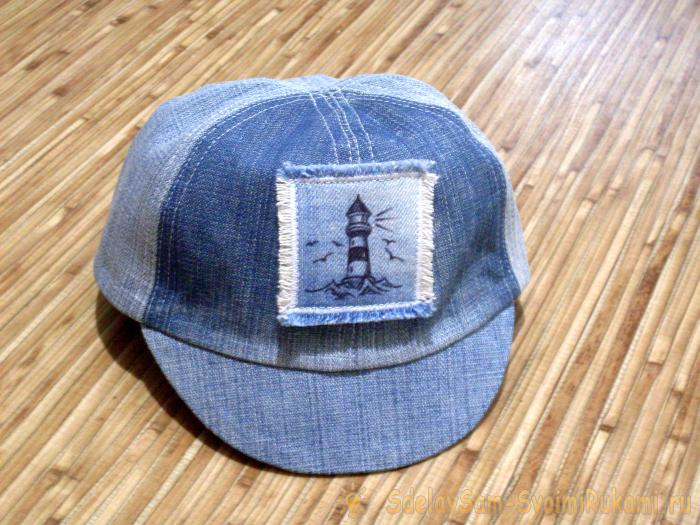 Шьём летнюю кепку для малыша