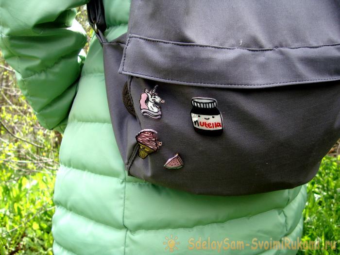 DIY значки на рюкзак, как сделать своими руками брелоки из