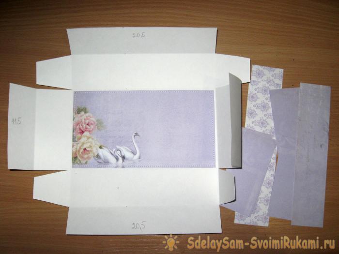 Wedding civet jewelry box