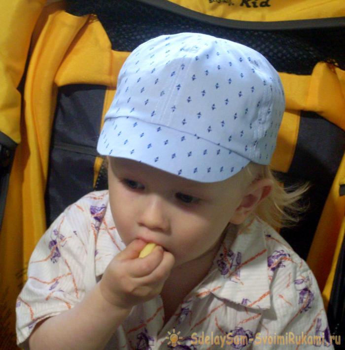 Шьем кепочку для малыша – Ярмарка Мастеров