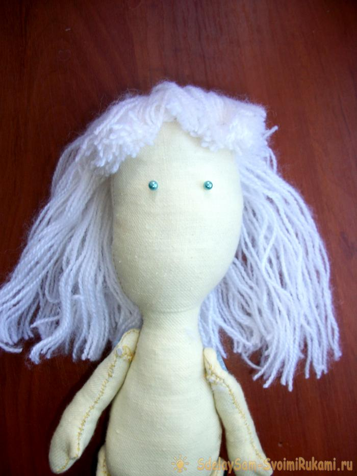 Textile doll do it yourself