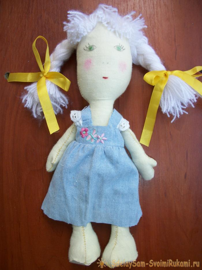 Do-it-yourself textile doll