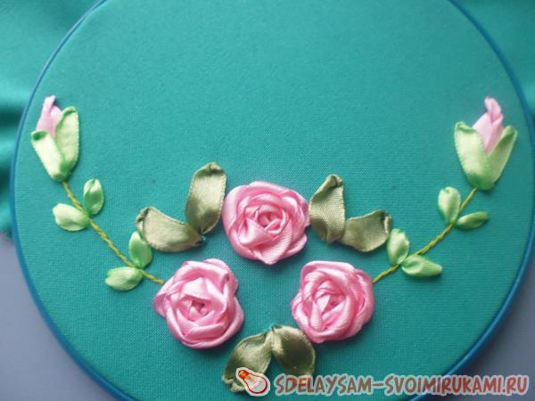 Салфетка c розами