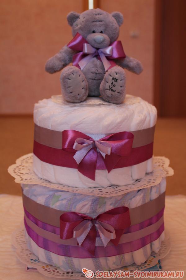 Чудо-торт из подгузников