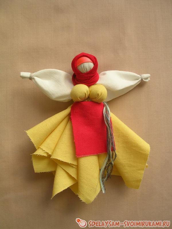 Кукла капустка или кормилка (рванка), мастер класс