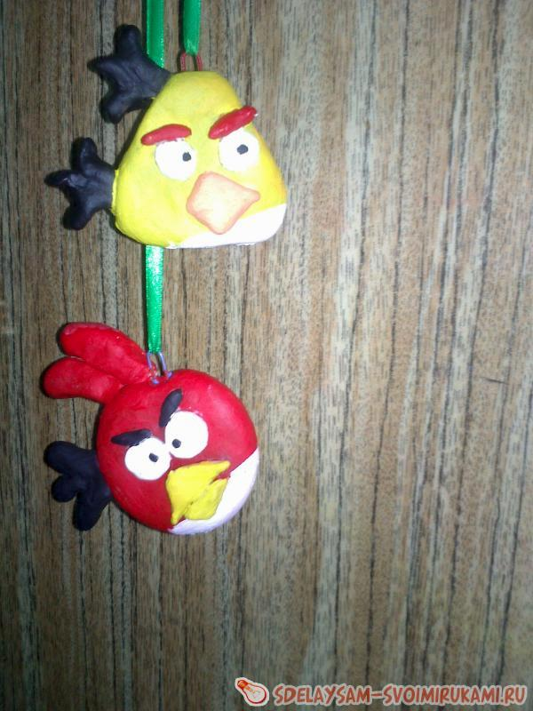 Две птички Angry Birds
