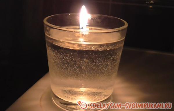 Водная свеча