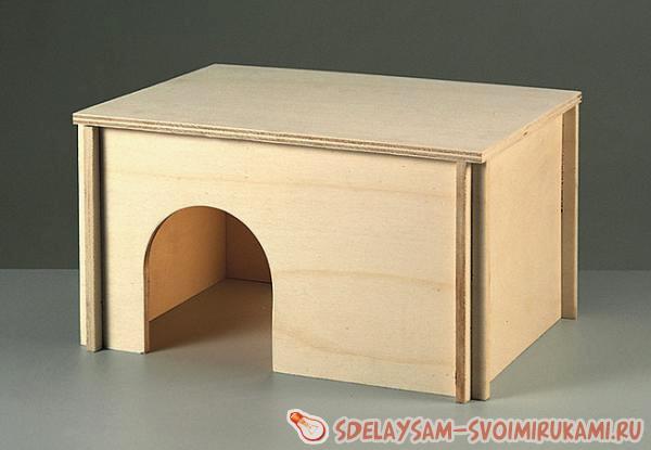 Домики и лежанки для домашних хорьков (27 фото)