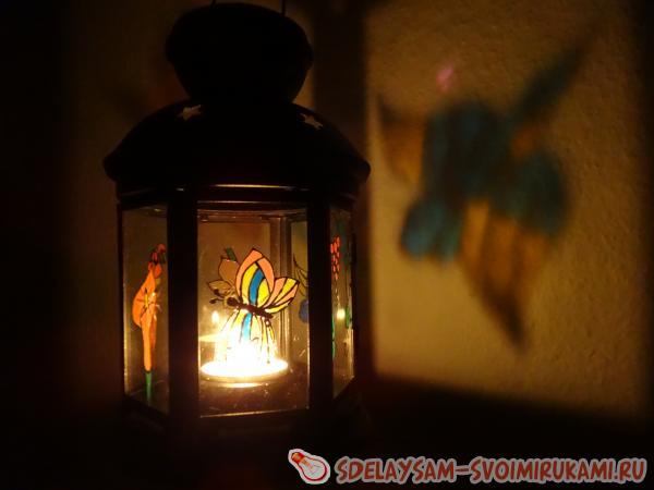 Волшебные фонарики своими руками