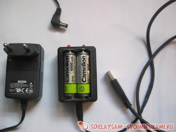 Как сделать зарядное устройство для батареек своими 505