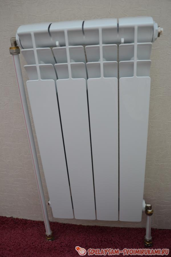 соединения радиаторов