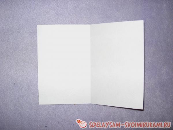 Вырезаем из акварельной бумаги