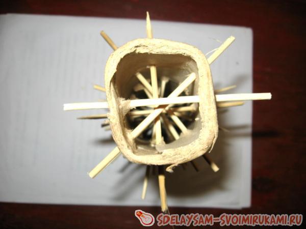 спираль внутри трубочки