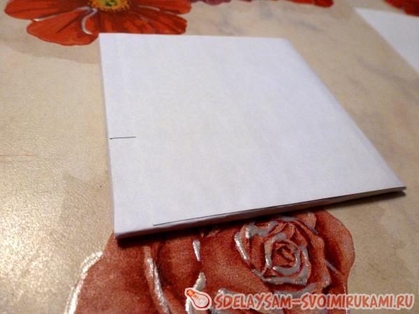 we paste over paper