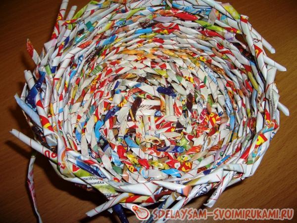 плетем по кругу