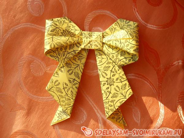 Bulk paper bow