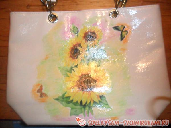 Солнечная сумка к летнему сезону