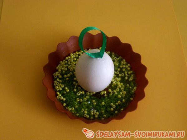 Бисерное яйцо