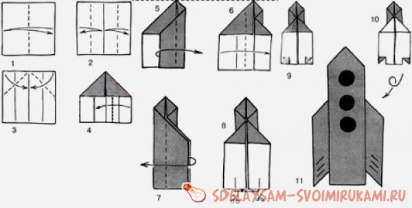 Модель корабля из бумаги своими руками фото 804
