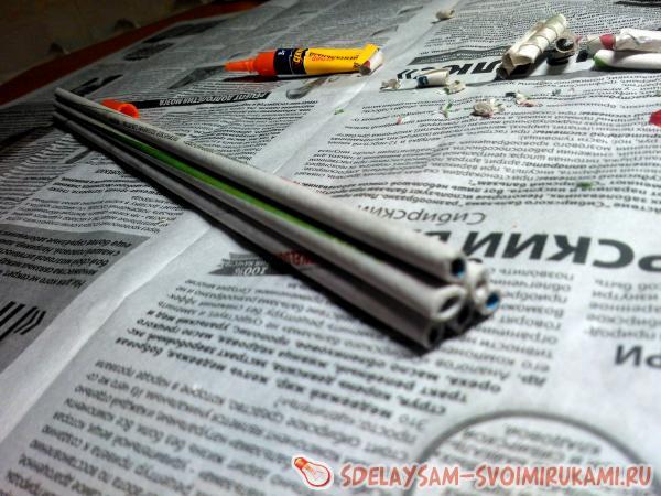 newspaper tubes