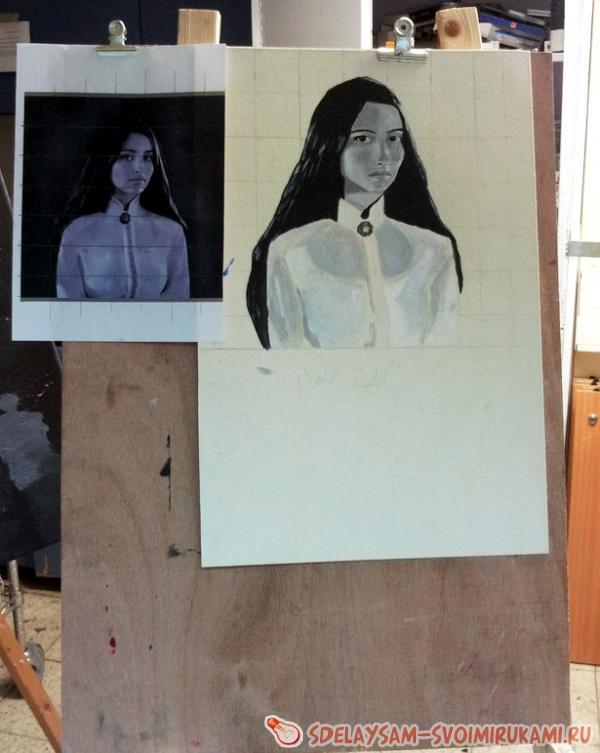 Draw portrait